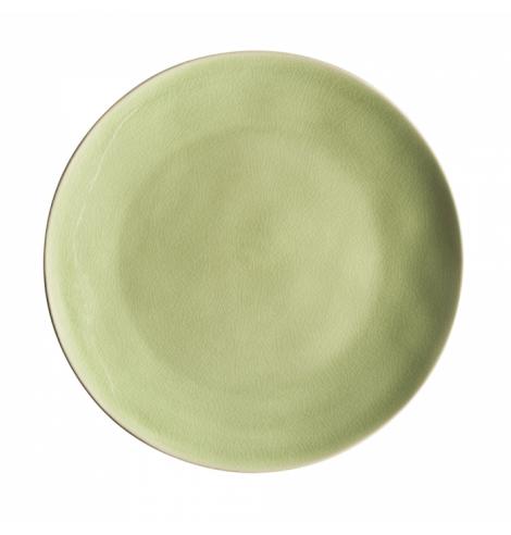 Costa Nova Set de 6 assiettes plates Costa Nova Riviera, vert frais (Ø 27 cm) NAP275HGR - Coutellerie du Jet d'eau