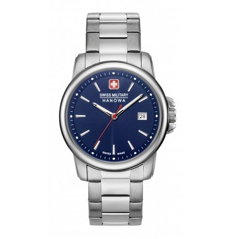 Swiss Military Hanowa Swiss Military Hanowa Swiss Recruit II Quartz 06-5230.7.04.003 - Coutellerie du Jet d'eau