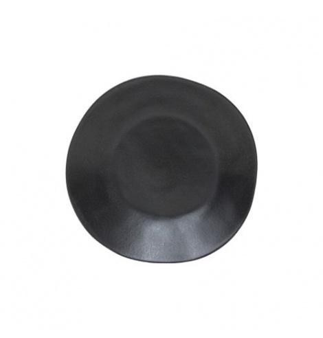 Costa Nova Set de 6 assiettes creuses Costa Nova Riviera , sable noir (Ø 25 cm) LSP252SN - Coutellerie du Jet d'eau