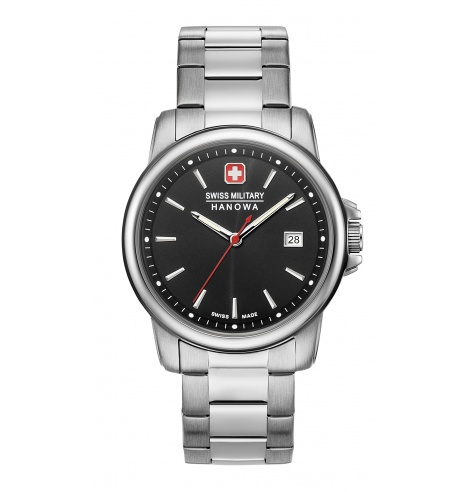 Swiss Military Hanowa Swiss Military Hanowa Swiss Recruit II Quartz 06-5230.7.04.007 - Coutellerie du Jet d'eau