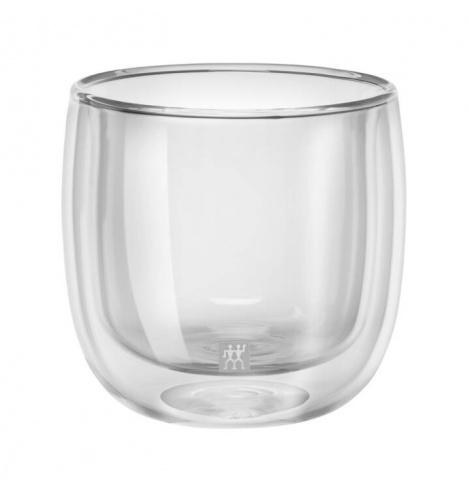 Zwilling J.A Henckels Set de 2 tasses à thé Zwilling - Sorrento (24 cl) 39500-077-0 - Coutellerie du Jet d'eau