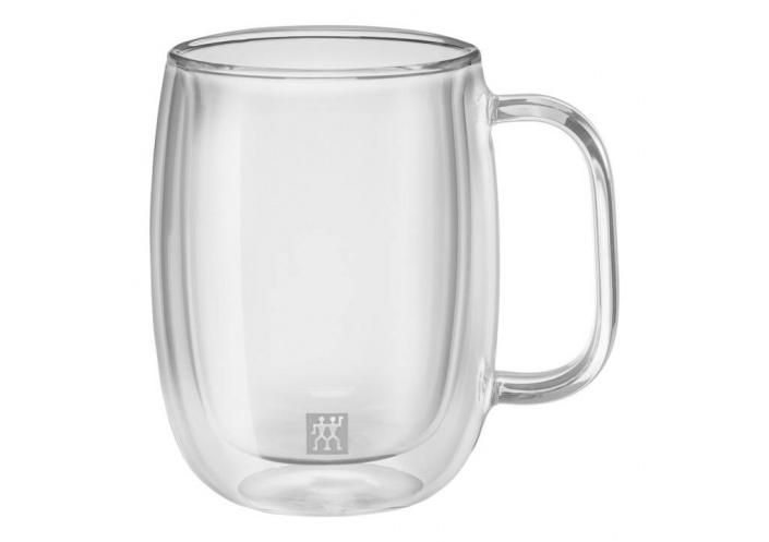 Zwilling J.A Henckels Set de 2 tasses à café avec anse Zwilling - Sorrento Plus (35.5 cl) 39500-112-0 - Coutellerie du Jet d'eau