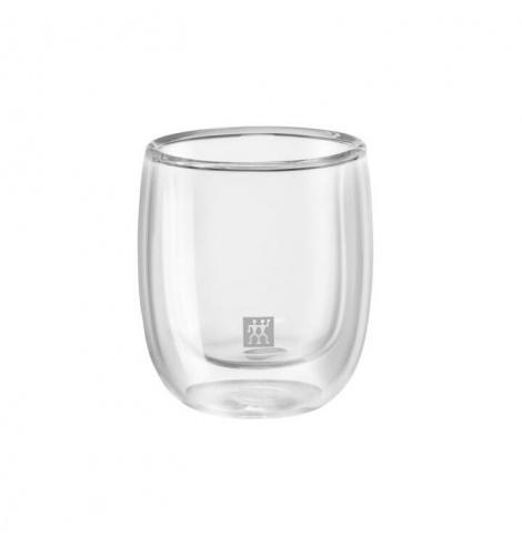 Zwilling J.A Henckels Set de 2 tasses à expresso Zwilling - Sorrento (8 cl) 39500-075-0 - Coutellerie du Jet d'eau