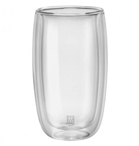 Zwilling J.A Henckels Set de 2 tasses à latte macchiato Zwilling - Sorrento (35 cl) 39500-078-0 - Coutellerie du Jet d'eau
