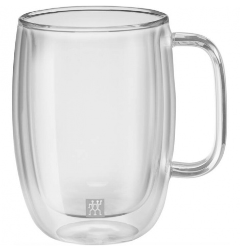 Zwilling J.A Henckels Set de 2 tasses à latte macchiato avec anse Zwilling - Sorrento Plus (35 cl) 39500-114-0 - Coutellerie ...
