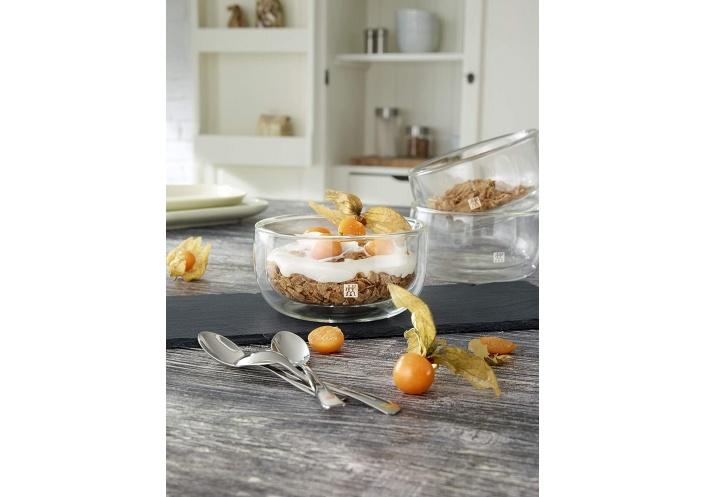 Zwilling J.A Henckels Set de 2 coupelles à dessert Zwilling - Sorrento (28 cl) 39500-079-0 - Coutellerie du Jet d'eau