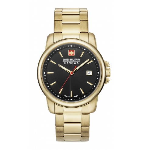 Swiss Military Hanowa Swiss Military Hanowa Swiss Recruit II Quartz 06-5230.7.02.007- - Coutellerie du Jet d'eau