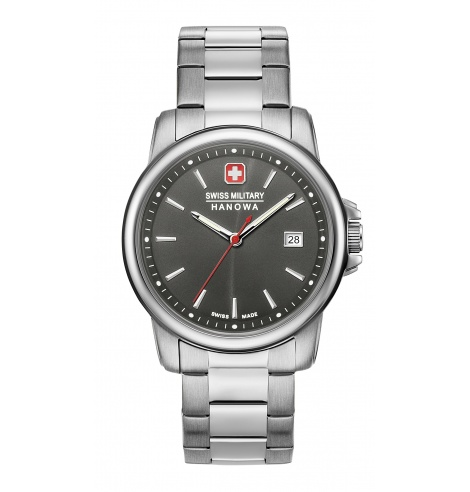 Swiss Military Hanowa Swiss Military Hanowa Swiss Recruit II Quartz 06-5230.7.04.009 - Coutellerie du Jet d'eau