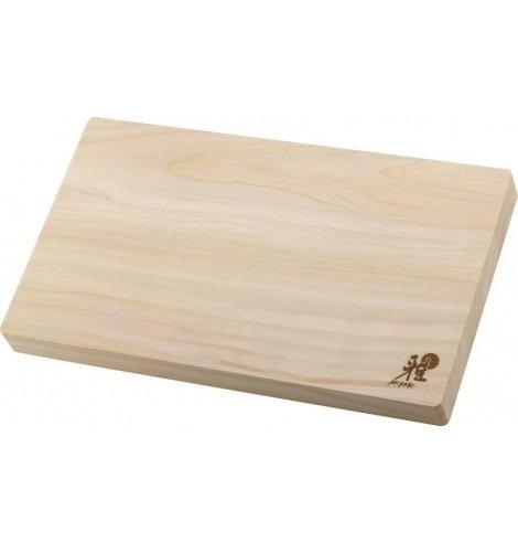 Miyabi Planche à découper Miyabi en bois d'Hinoki (35,00 x 20,00 x 3 cm) 34535-200-0 - Coutellerie du Jet d'eau