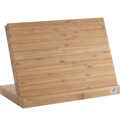 Porte-couteaux magnétiques Zwilling en bois de bambou 35046-110 - Coutellerie du Jet d'eau