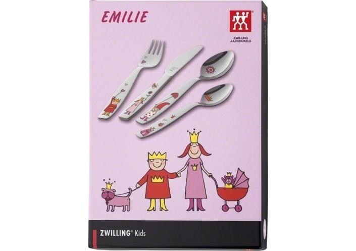 """Zwilling J.A Henckels Couverts pour enfants Zwilling J.A Henckels """"Emilie"""" (4 pièces) 07136-210-0 - Coutellerie du Jet d'eau"""