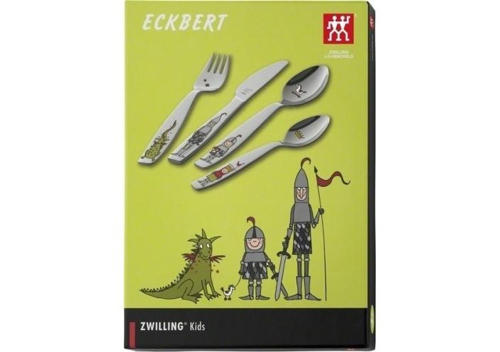 """Zwilling J.A Henckels Couverts pour enfants Zwilling J.A Henckels """"Eckbert"""" (4 pièces) 07132-210-0 - Coutellerie du Jet d'eau"""