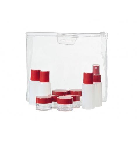 Wenger Travel Gear Lot de flacons et pots de voyage 604548 - Coutellerie du Jet d'eau