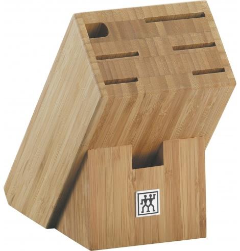 Bloc porte-couteaux Zwilling J.A Henckels en bois de Bambou (6 pièces) 35042-400 - Coutellerie du Jet d'eau