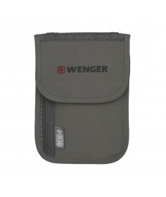 Wenger Travel Gear Pochette à document de cou avec protection RFID 604589 - Coutellerie du Jet d'eau