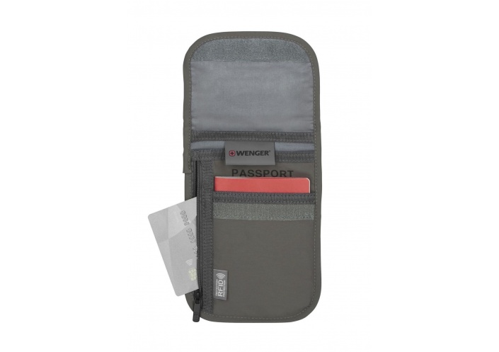 Wenger Travel Gear Pochette à document de cou avec protection RFID 604589 - Coutellerie du Jet d'eau
