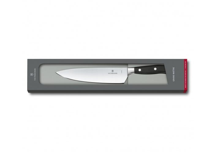 Victorinox Kitchen Couteau de chef Victorinox Grand Maître noir (20 cm) 7.7403.20G - Coutellerie du Jet d'eau