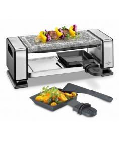 Küchenprofi Appareil à raclette Küchenprofi avec plaque en marbre pour 2 personnes 1760002800 - Coutellerie du Jet d'eau