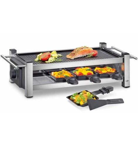 Küchenprofi Appareil à raclette / grille Küchenprofi pour 8 personnes 1770502800 - Coutellerie du Jet d'eau
