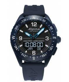 Alpina Alpina Smartwatch AlpinerX AL-283LBN5NAQ6 - Coutellerie du Jet d'eau