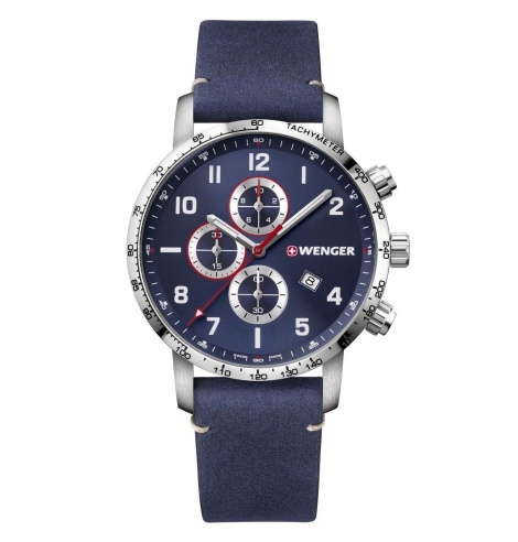 Wenger Watches Wenger Chronographe Attitude 01.1543.109 - Coutellerie du Jet d'eau