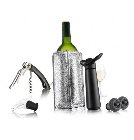 Vacuvin Coffret cadeau Vacuvin - Les essentiels du vin 7268890 - Coutellerie du Jet d'eau