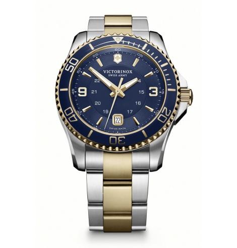 Victorinox Watches Victorinox Maverick Large Bicolore Cadran bleu 241789 - Coutellerie du Jet d'eau