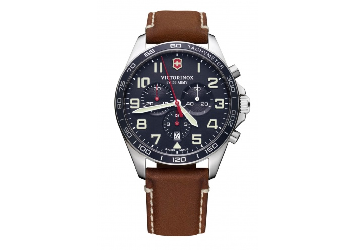 Victorinox Watches Victorinox Fieldforce Chrono Cadran bleu 241854 - Coutellerie du Jet d'eau