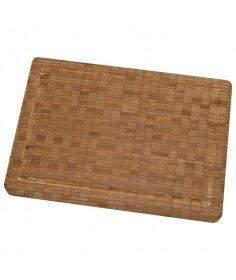 Zwilling J.A Henckels Planche à découper Zwilling en bois de bambou (35.00 x 25.00 x 3.00 cm) 30772-100-0 - Coutellerie du Je...