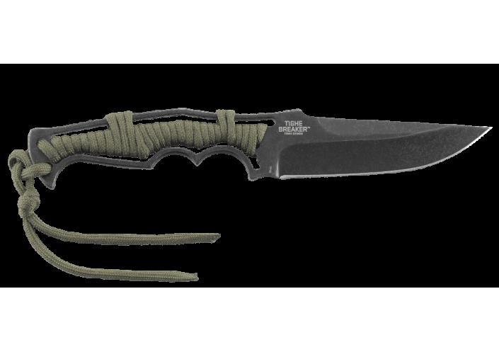 CRKT Couteau lame fixe CRKT Tighe Breaker 1110 - Coutellerie du Jet d'eau