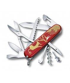 Victorinox Swiss Knives Couteau suisse Victorinox Huntsman Year of the Ox 2021 1.3714.E10 - Coutellerie du Jet d'eau