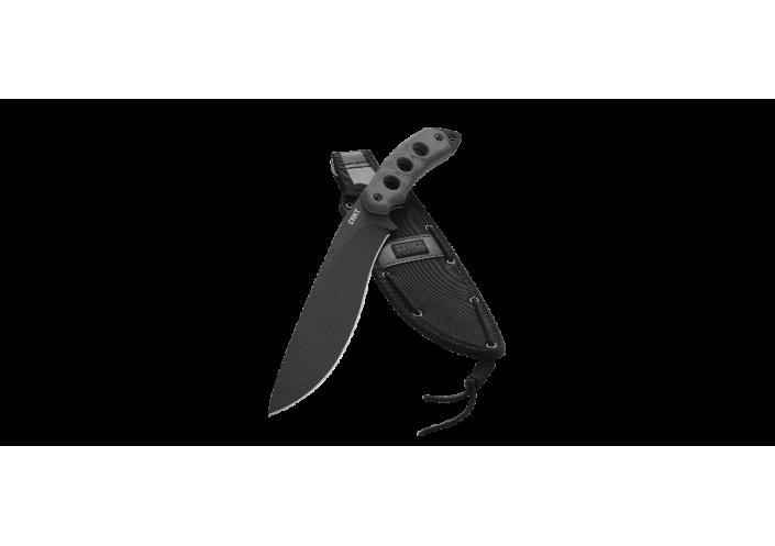 CRKT Couteau à lame fixe CRKT KHC KAREN HOOD CHOPPER 3514 - Coutellerie du Jet d'eau