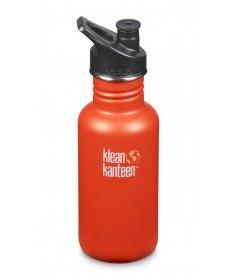 Klean Kanteen Gourde Klean Kanteen Classic (avec Sport Cap) Sierra Sunset 532ml 1006095 - Coutellerie du Jet d'eau