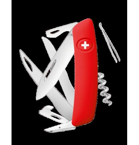 Swiza Swiss Knives Couteau suisse Swiza D07 Standard KNI.0110.1000 - Coutellerie du Jet d'eau