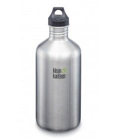 Klean Kanteen Gourde Klean Kanteen Classic (avec Loop Cap) Brushed Stainless 1900ml 1000704 - Coutellerie du Jet d'eau