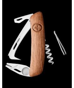 Swiza Swiss Knives Couteau suisse Swiza HO03TT Horse Tick-Tool en Bois de noyer KHO.0070.6300 - Coutellerie du Jet d'eau