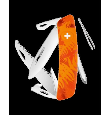 Swiza Swiss Knives Couteau suisse Swiza C06 Camouflage Fougère KNI.0060.2060 - Coutellerie du Jet d'eau