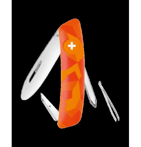 Swiza Swiss Knives Couteau suisse Swiza J02 Junior Camouflage Urban KNI.0021.2070 - Coutellerie du Jet d'eau