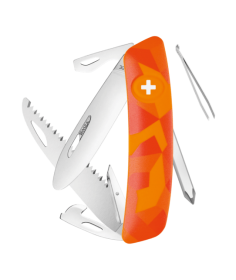Swiza Swiss Knives Couteau suisse Swiza J06 Junior Camouflage Urban KNI.0061.2071 - Coutellerie du Jet d'eau