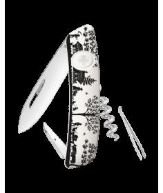 Swiza Swiss Knives Couteau suisse Swiza D01 Heimat Blanc KNB.0010.HEI3 - Coutellerie du Jet d'eau