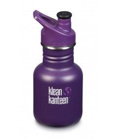 Klean Kanteen Gourde Kid Kanteen Classic (avec Sport Cap violet) Grape Jelly 355ml 1005856 - Coutellerie du Jet d'eau