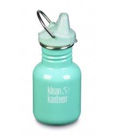 Klean Kanteen Gourde Kid Kanteen Classic (avec Sippy Cap turquoise) Beach Bum 355ml 1005847 - Coutellerie du Jet d'eau