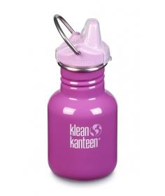 Klean Kanteen Gourde Kid Kanteen Classic (avec Sippy Cap rose) Bubblegum 355ml 1005849 - Coutellerie du Jet d'eau