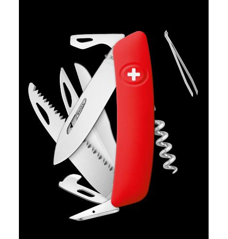 Swiza Swiss Knives Couteau suisse Swiza D09 Standard KNI.0130.1000 - Coutellerie du Jet d'eau