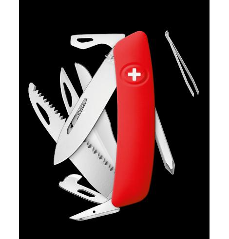 Swiza Swiss Knives Couteau suisse Swiza D10 Standard KNI.0140.1000 - Coutellerie du Jet d'eau
