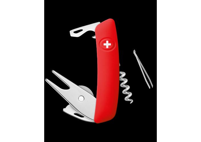 Swiza Swiss Knives Couteau suisse Swiza GO03 Golf KGO.0030.1000 - Coutellerie du Jet d'eau