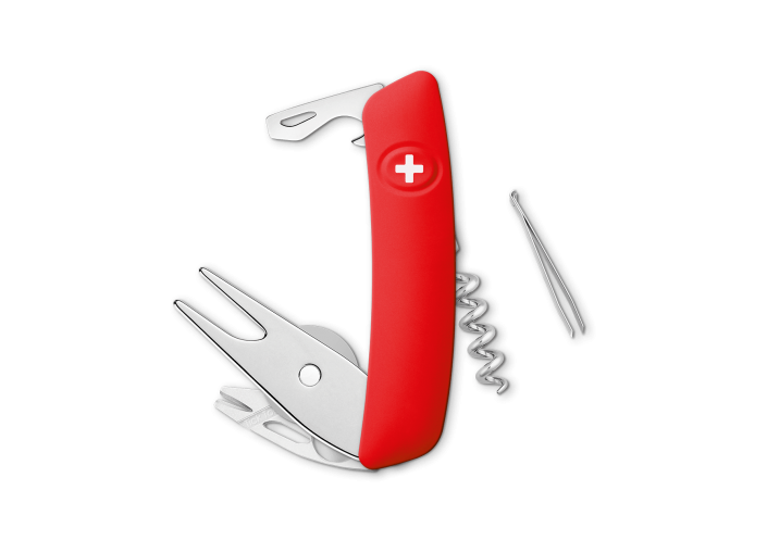 Swiza Swiss Knives Couteau suisse Swiza GO03TT Golf Tick-Tool KGO.0070.1000 - Coutellerie du Jet d'eau