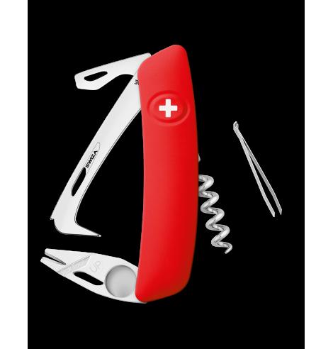 Swiza Swiss Knives Couteau suisse Swiza Horse HO03 R-TT Tick-Tool KHO.0070.1000 - Coutellerie du Jet d'eau