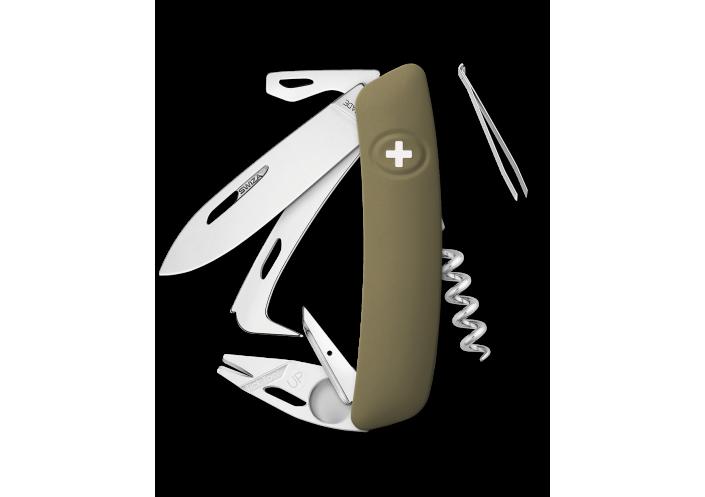 Swiza Swiss Knives Couteau suisse Swiza HO05 R-TT Horse Tick-Tool KHO.0090.1000 - Coutellerie du Jet d'eau