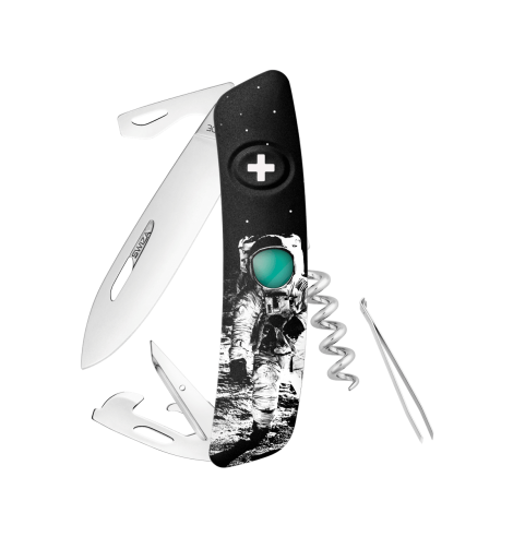 Swiza Swiss Knives Couteau suisse Swiza D03 Moonwalk 50 KNB.0030.MW50 - Coutellerie du Jet d'eau